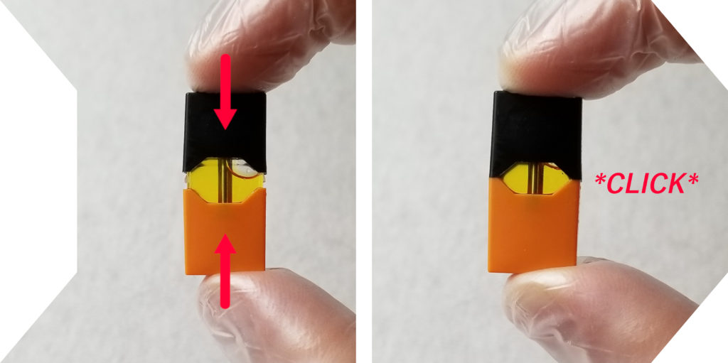 How to Refill JUUL Pods Mouthpiece Reapplication