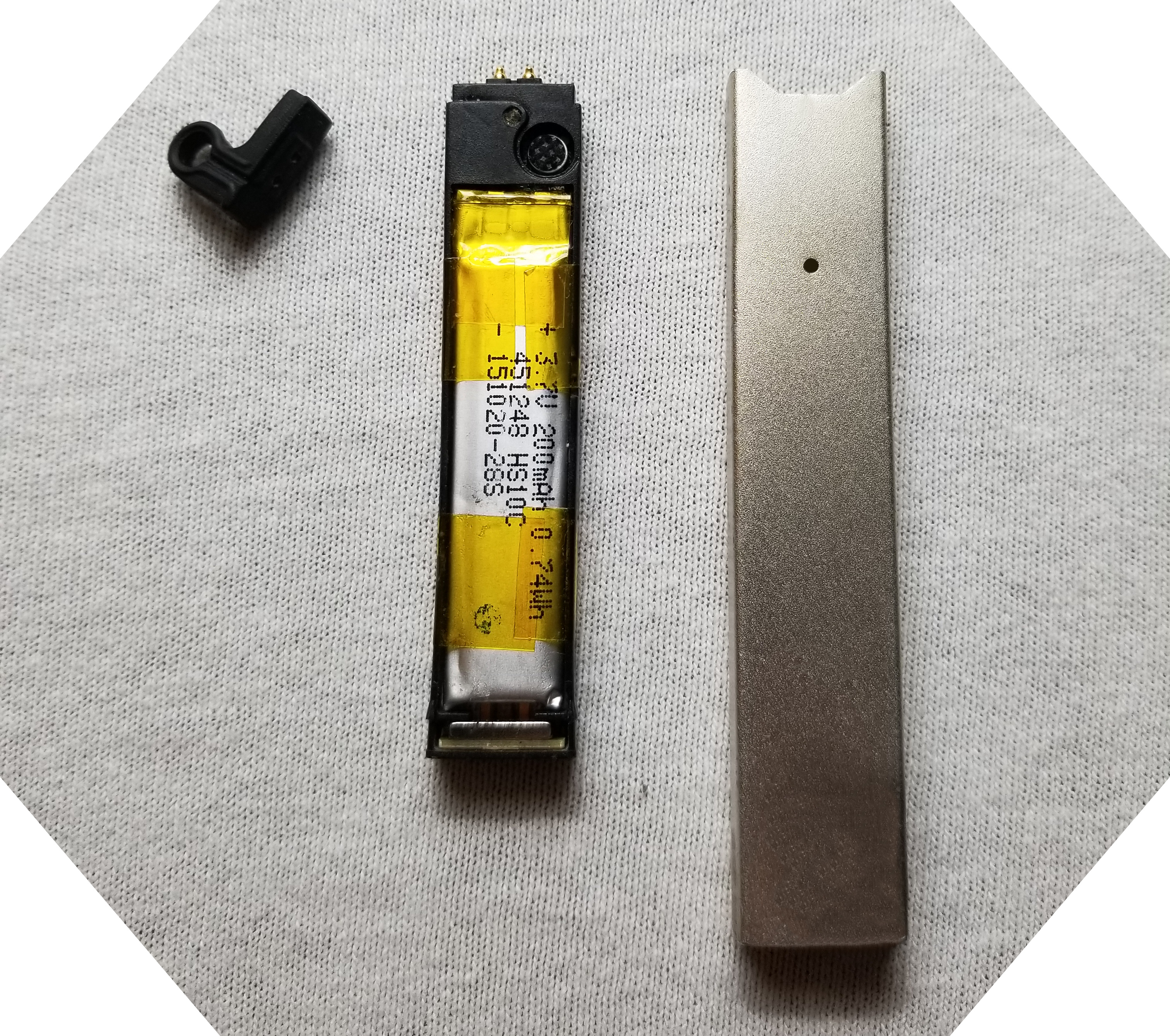 JUUL Disassembly Cleaning JUUL Components