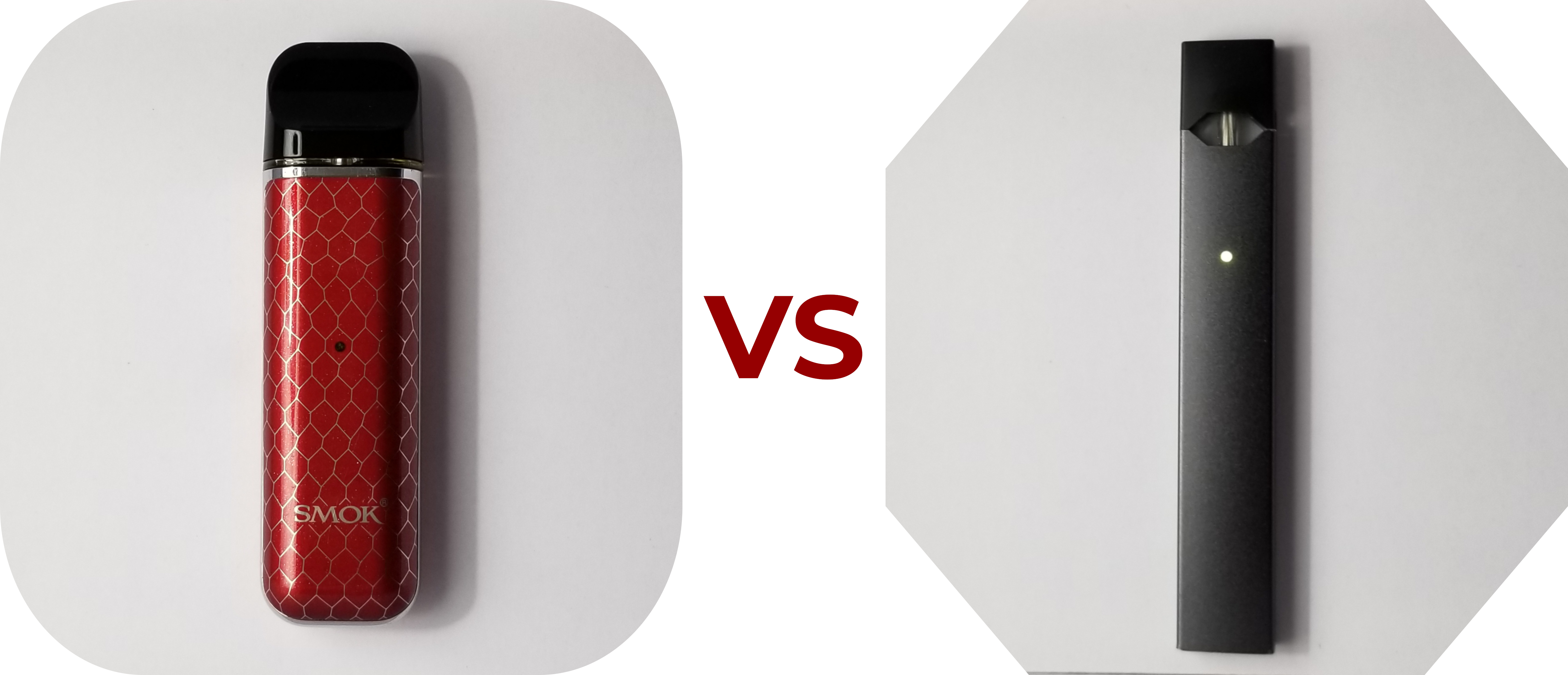 SMOK Novo Review Novo VS JUUL