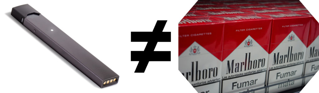 The FDA and the JUUL JUUL is not Equal to Cigarettes