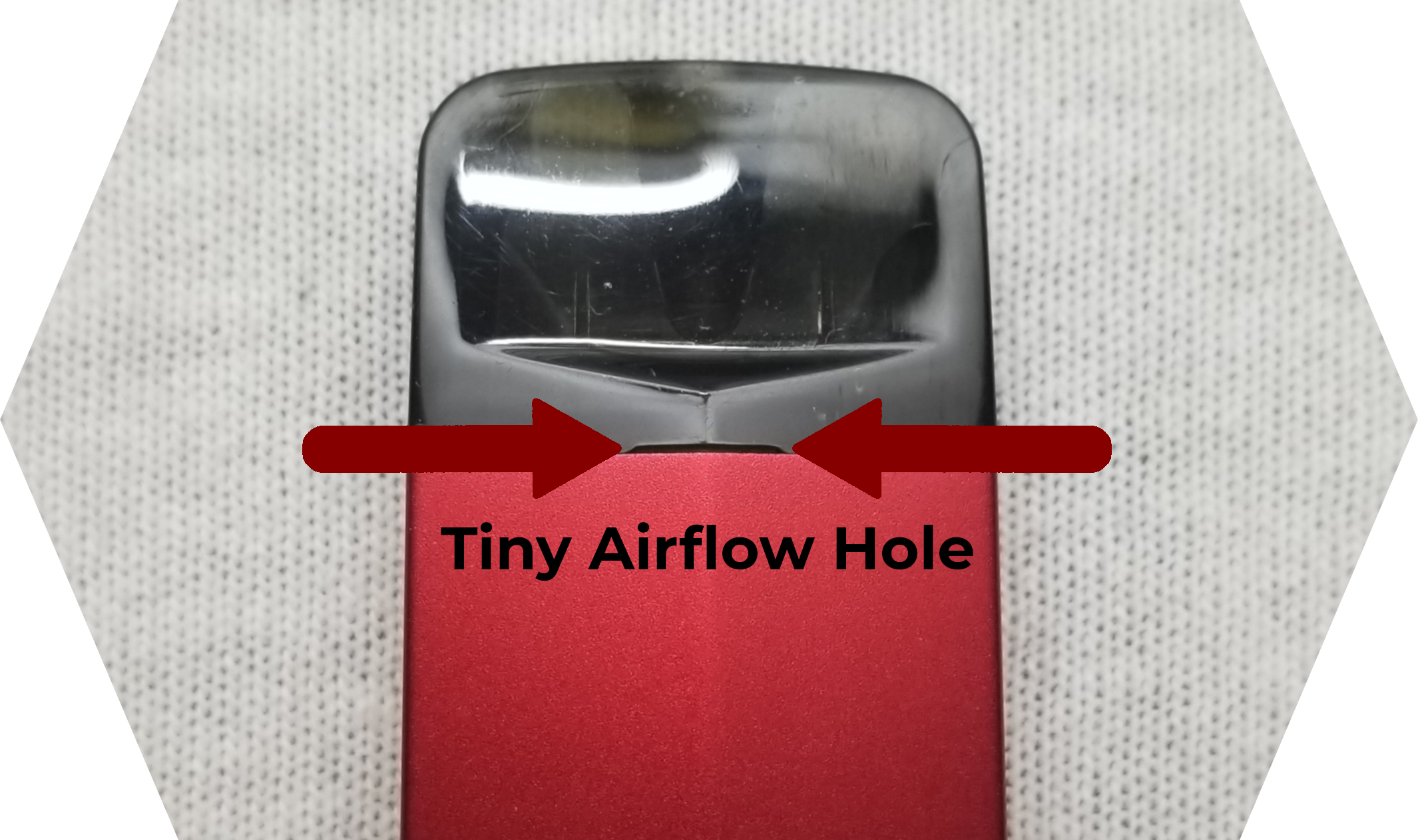 Suorin Edge Review Airflow Hole