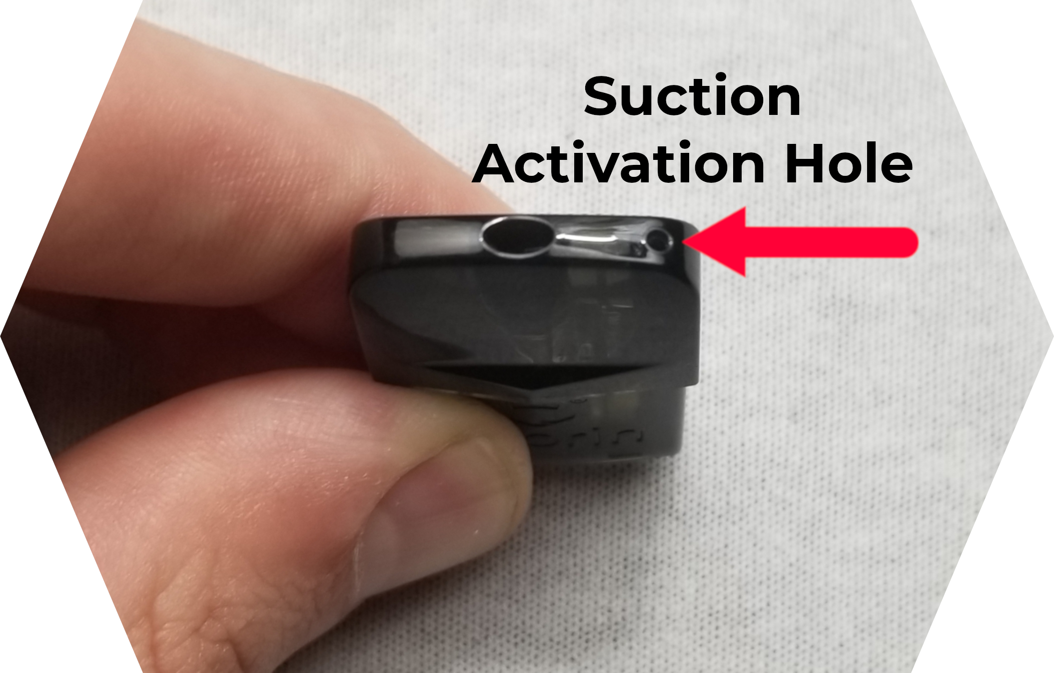 Suorin Edge Review Suction Activation Hole