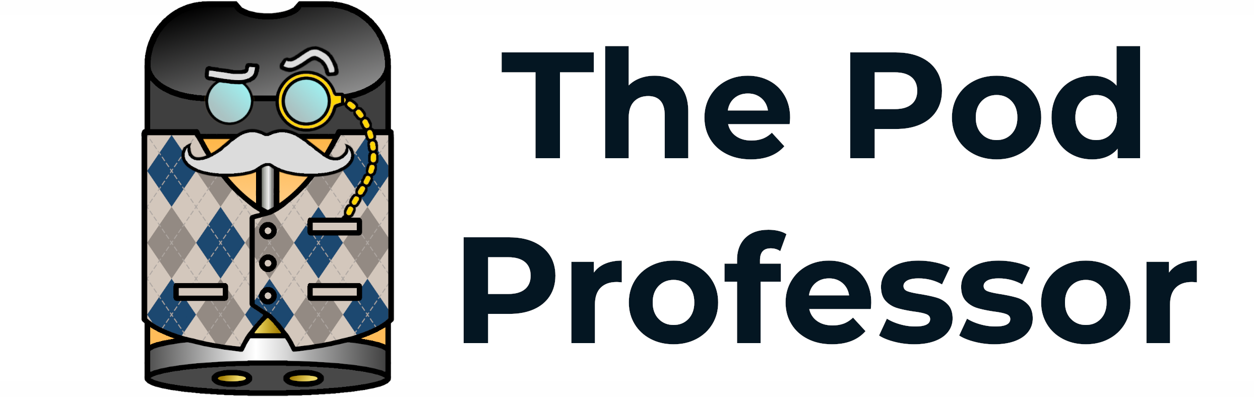 The Pod Professor Title Logo